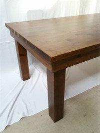 Wooden Table 2 4m