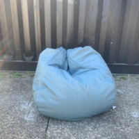 Bean Bag Denim Blue