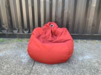 Bean Bag Dark Red
