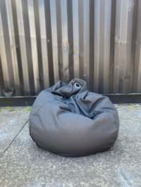 Bean Bag Charcoal Grey